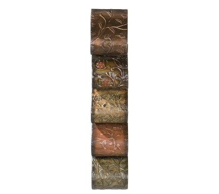Rowena Wall Mount Wine Rack Sculpture