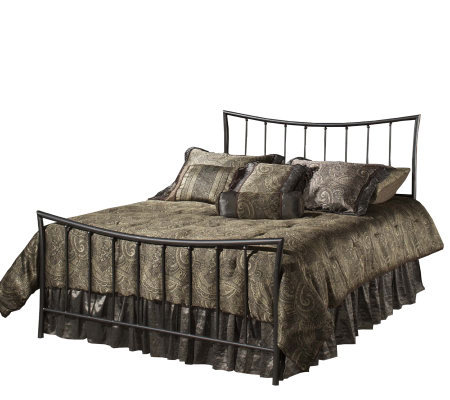 Hillsdale Furniture Edgewood Full Bed-MagnesiumPewter Finish