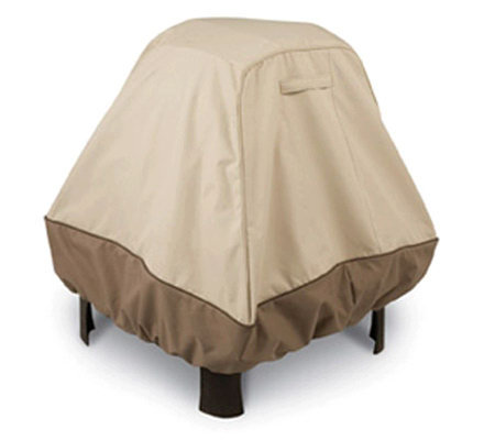 Veranda Stand-Up Fire Pit Cover X-Large by Classic Accessorie
