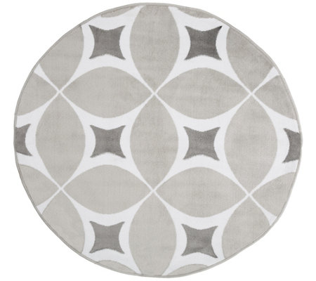 Lavish Home 5' Round Area Rug