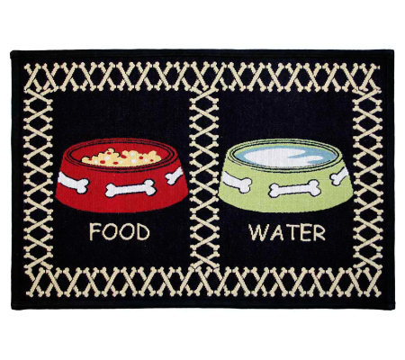 "Meal Time 19"" x 13"" Tapestry Rug"