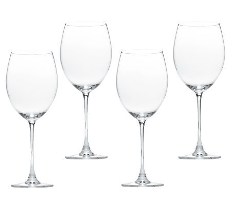 Lenox Tuscany Classics Set of 4 Grand Bordeaux Wine Glasses