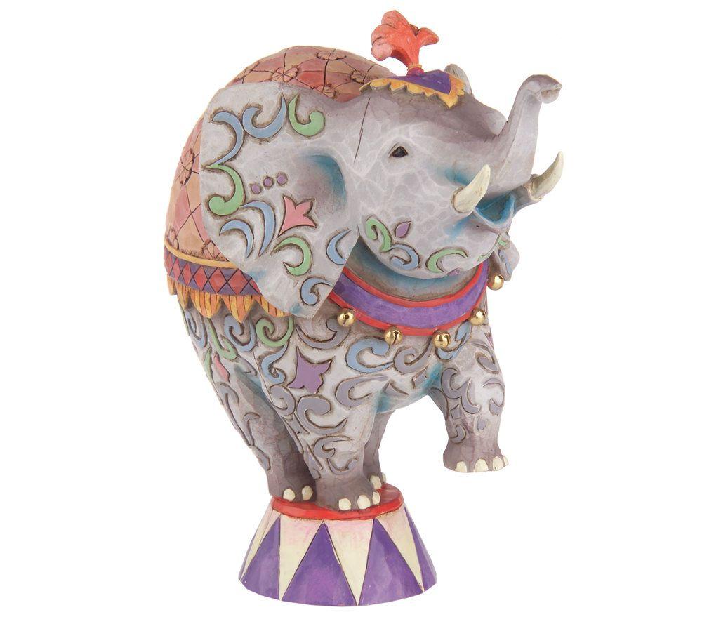 Jim Shore Heartwood Creek Circus Elephant Figurine