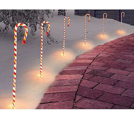 Candy cane rope lights by roman qvc aloadofball Images