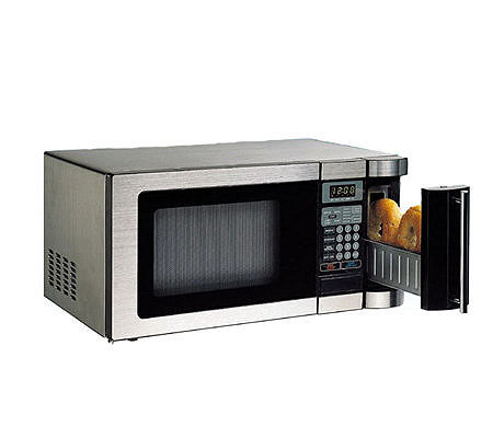 Daewoo 1000W Compact Microwave Oven w/Built-in2 Slot Toaster - Page