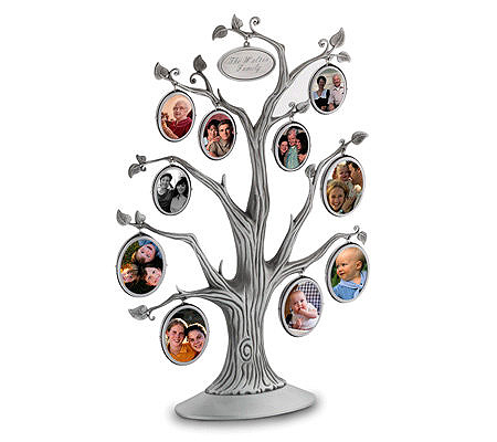 Things Remembered Personalized Family Tree Frame Page 1 Qvc