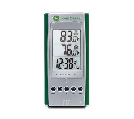 oregon scientific rar232 john deere wireless thermometer qvc com rh qvc com Oregon Scientific Clock Manual Oregon Scientific Atomic Clock Manual