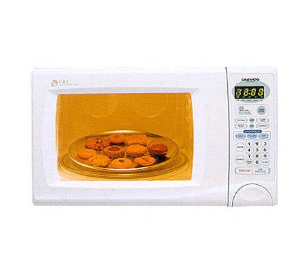 Daewoo KOR630A 800W Compact Microwave Oven - White — QVC.com