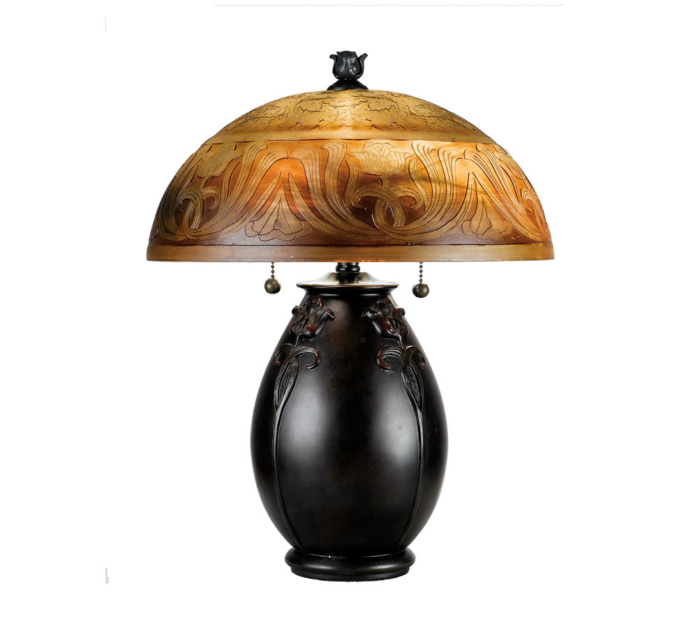Quoizel Glenhaven Table Lamp Page 1 Qvc Com