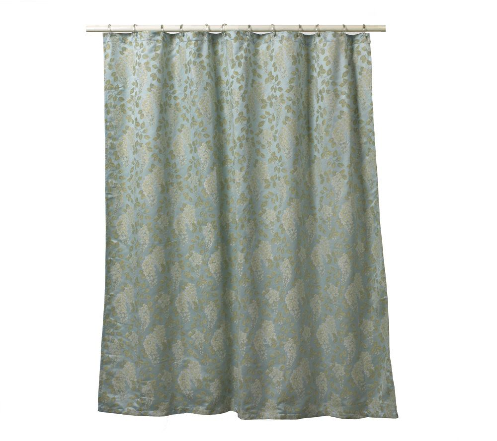 Croscillu0027s Wisteria Shower Curtain U2014 QVC.com
