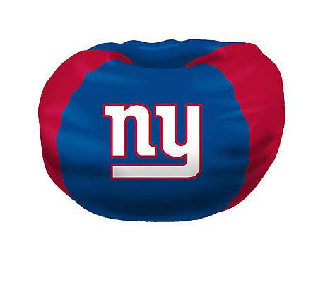 nfl new york giants bean bag chair qvc com