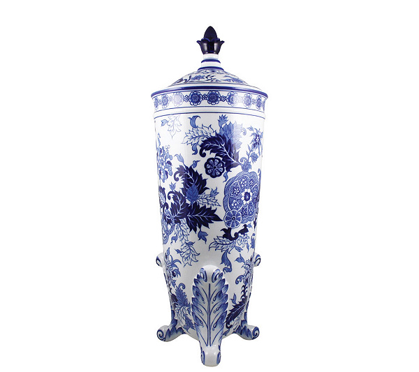 Blue Room Statements Limited Edition Footed Vase By Spode Qvc