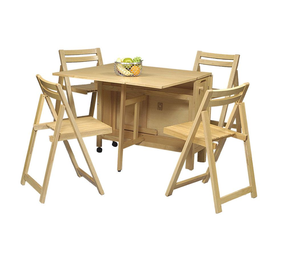 Merveilleux Space Saver 5 Piece Dining Set   Natural. Product Thumbnail. In Stock