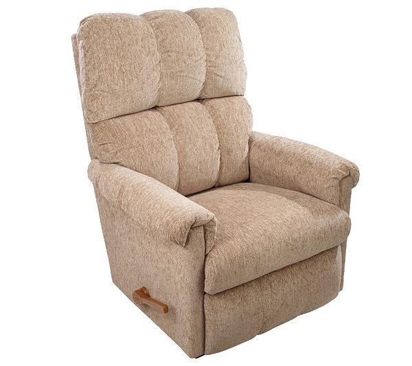 Enjoyable La Z Boy Vail Chenille Fabric Rocker Recliner Qvc Com Inzonedesignstudio Interior Chair Design Inzonedesignstudiocom