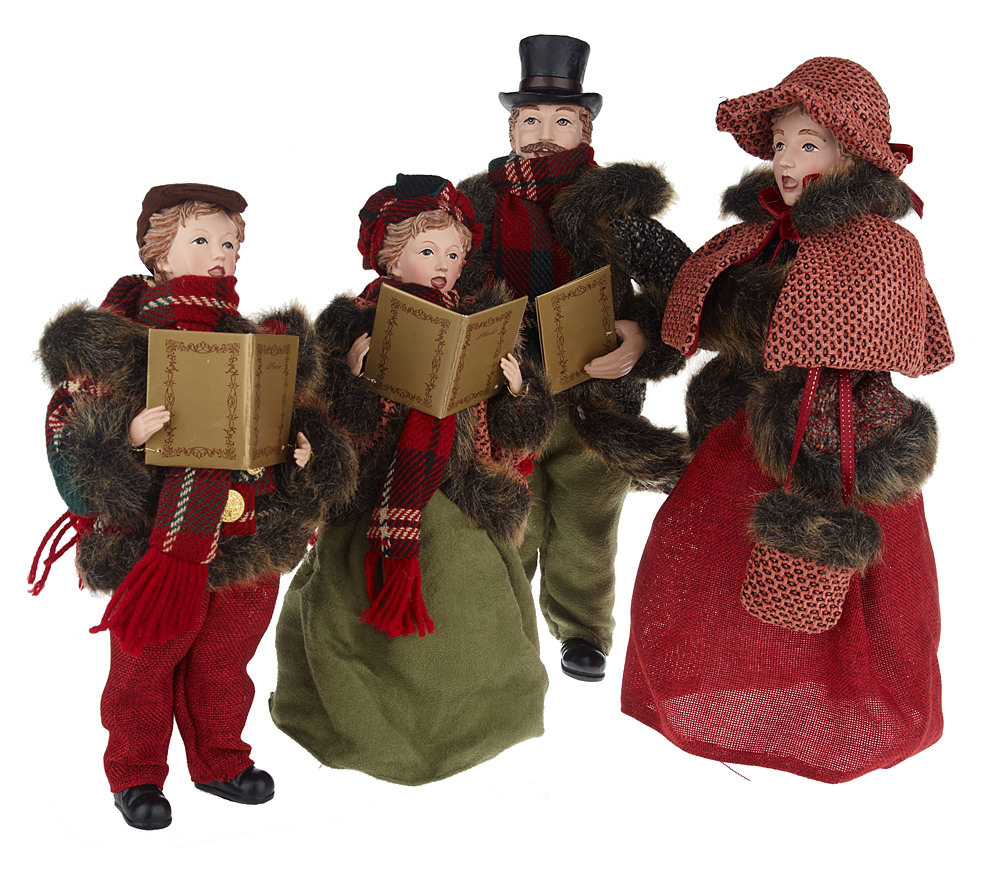 Christmas Carolers Holiday Yard Decorations By Al3001 On: Wonderful Victorian Carolers Figurines @LY15