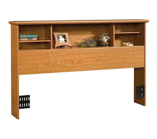 Sauder Full Queen Bookcase Headboard Qvc Com