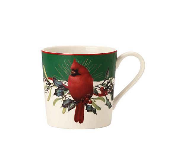Lenox winter greetings mugs set of 4 qvc m4hsunfo