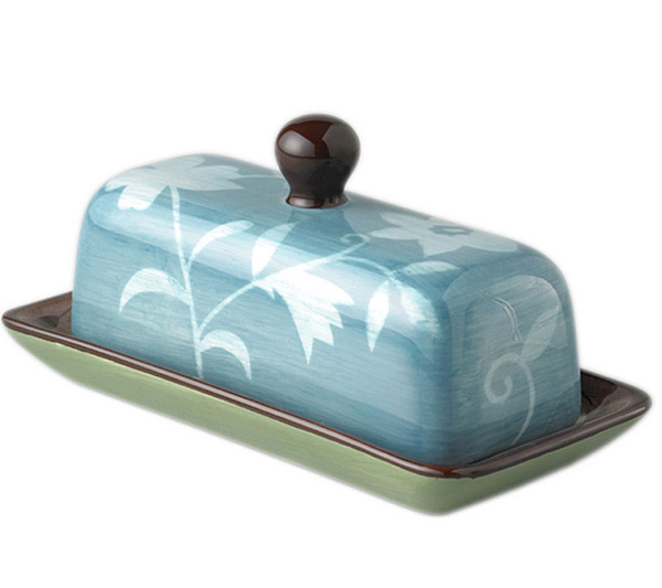 Pfaltzgraff Patio Garden Covered Butter Dish - Page 1 — QVC.com