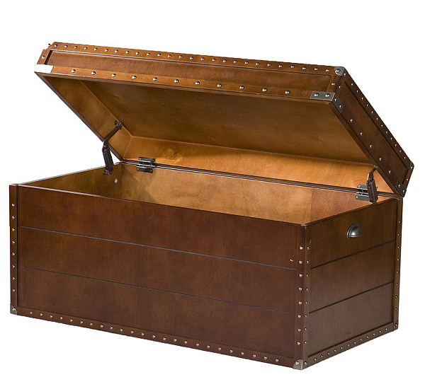 Remarkable Steamer Trunk Coffee Table Qvc Com Evergreenethics Interior Chair Design Evergreenethicsorg