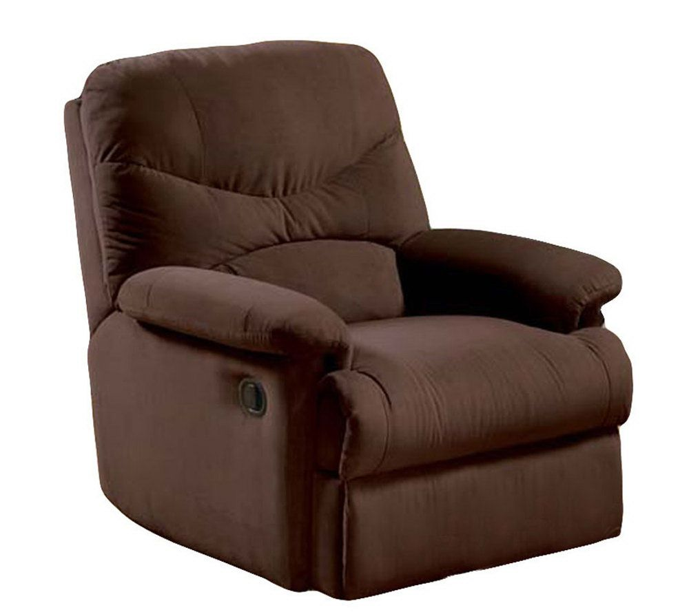 Microfiber Recliner By Acme Furniture   Page 1 U2014 QVC.com