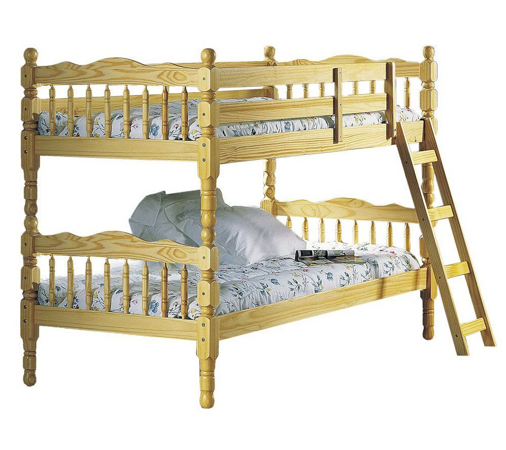 Ventura Twin Twin Bunk Bed W Ladder By Acme Furniture Qvc Com