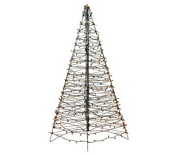 outdoor christmas tree product thumbnail in stock - Outdoor Prelit Christmas Tree