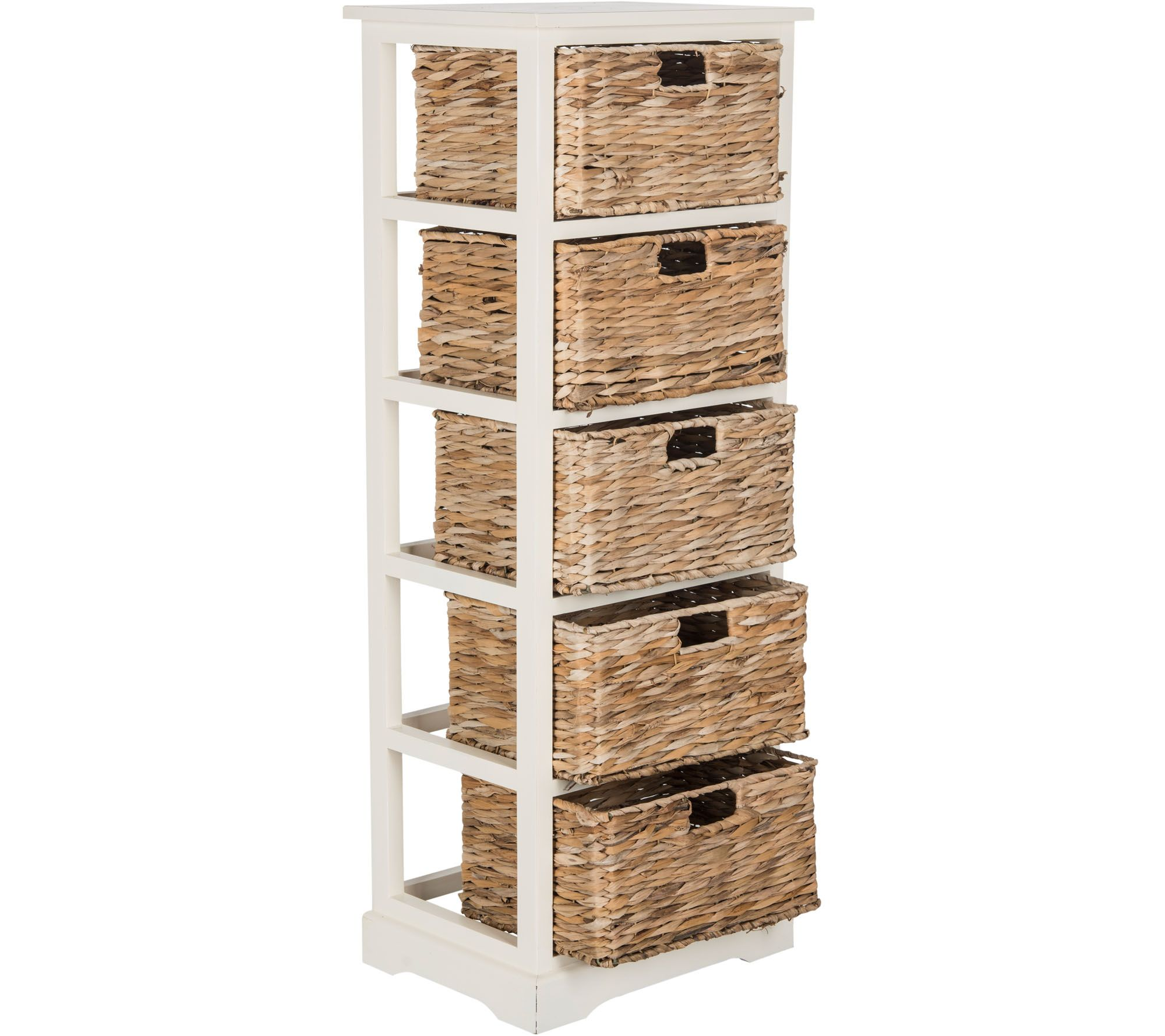 sc 1 st  QVC.com : wicker basket storage tower  - Aquiesqueretaro.Com