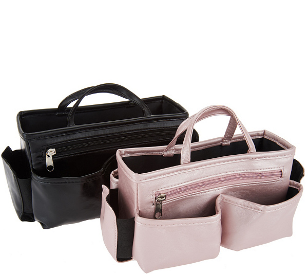9f20a80e34 ... Ready Set Go Set of 2 Bag Organizers by Lori Greiner. product  thumbnail. In Stock