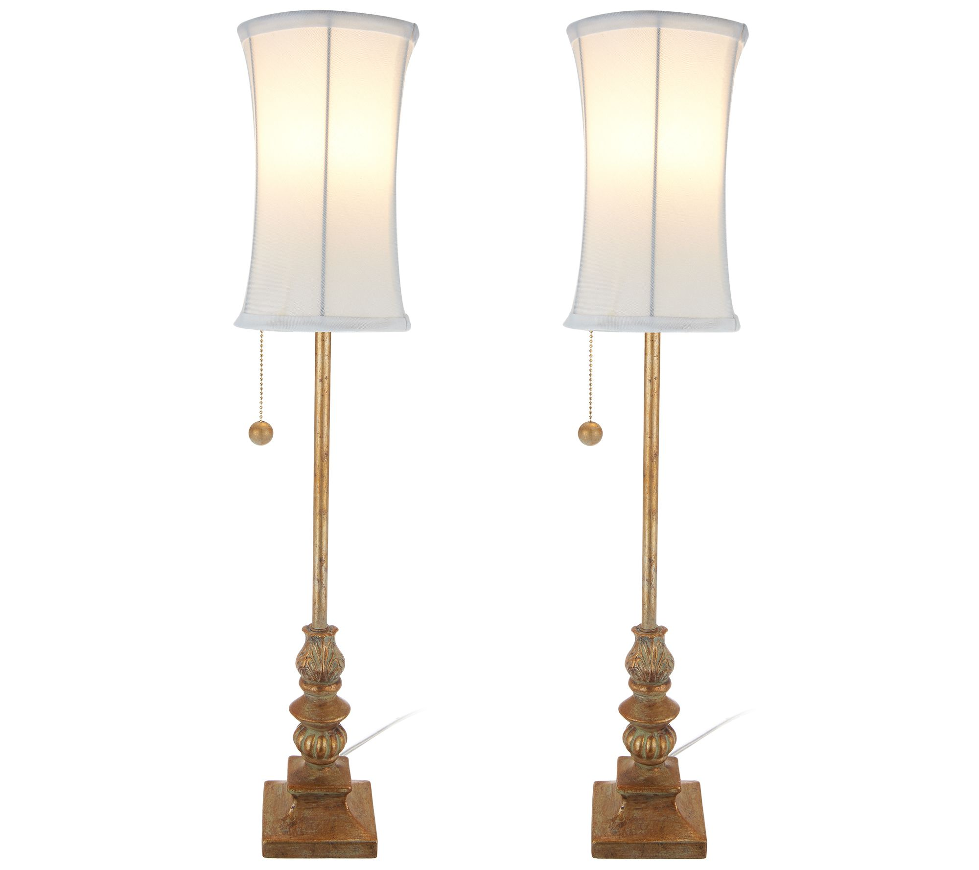 set of 2 antiqued finish 28 5 buffet lamps by valerie page 1 rh qvc com Buffet Lamps Set cheap buffet lamps set of 2