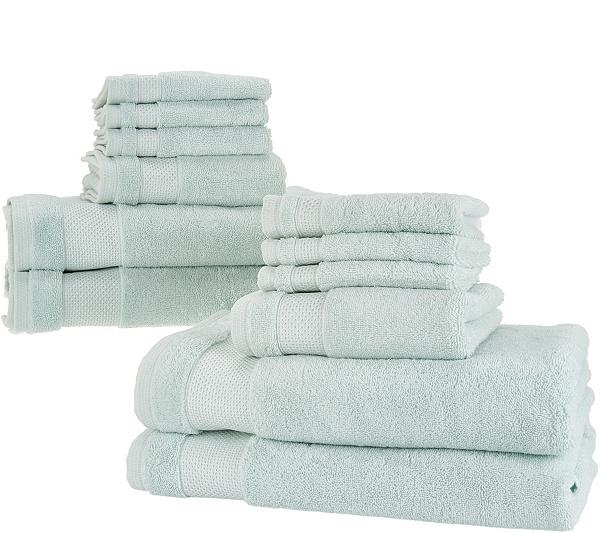 Scott Living 12 Piece 100 HygroCotton Bath Towel Set