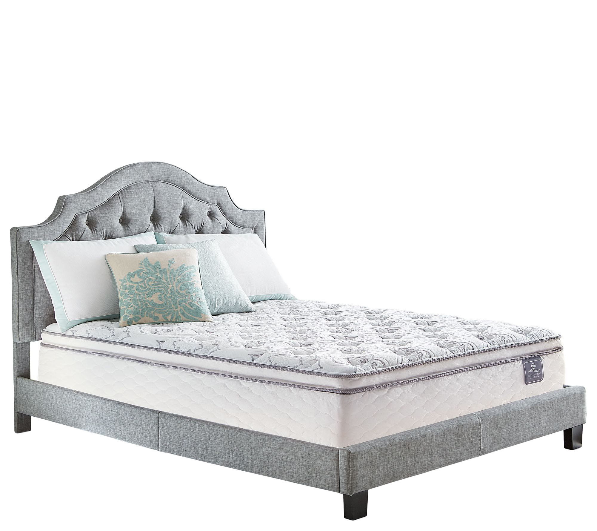Serta Perfect Sleeper Cache Hotel Pillowtop Full Mattress Qvc Com