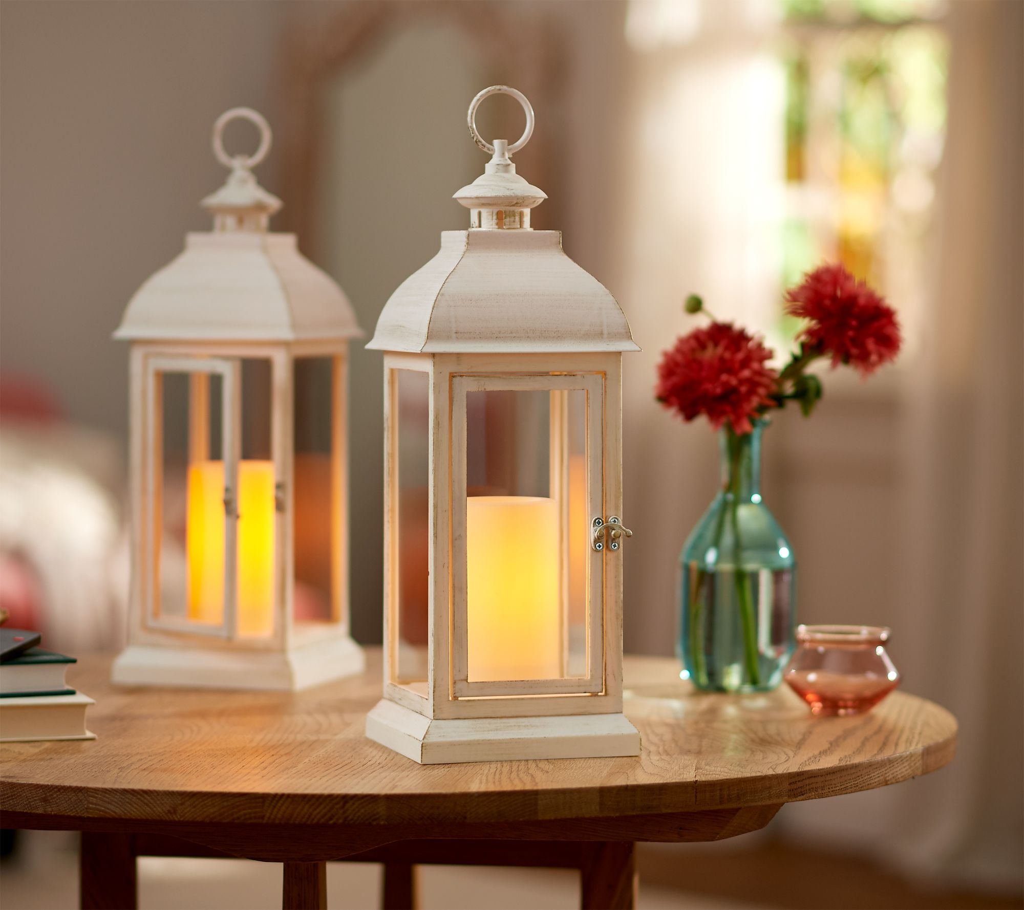 Qvc Candle Impressions Indoor Outdoor Set Of 2 15