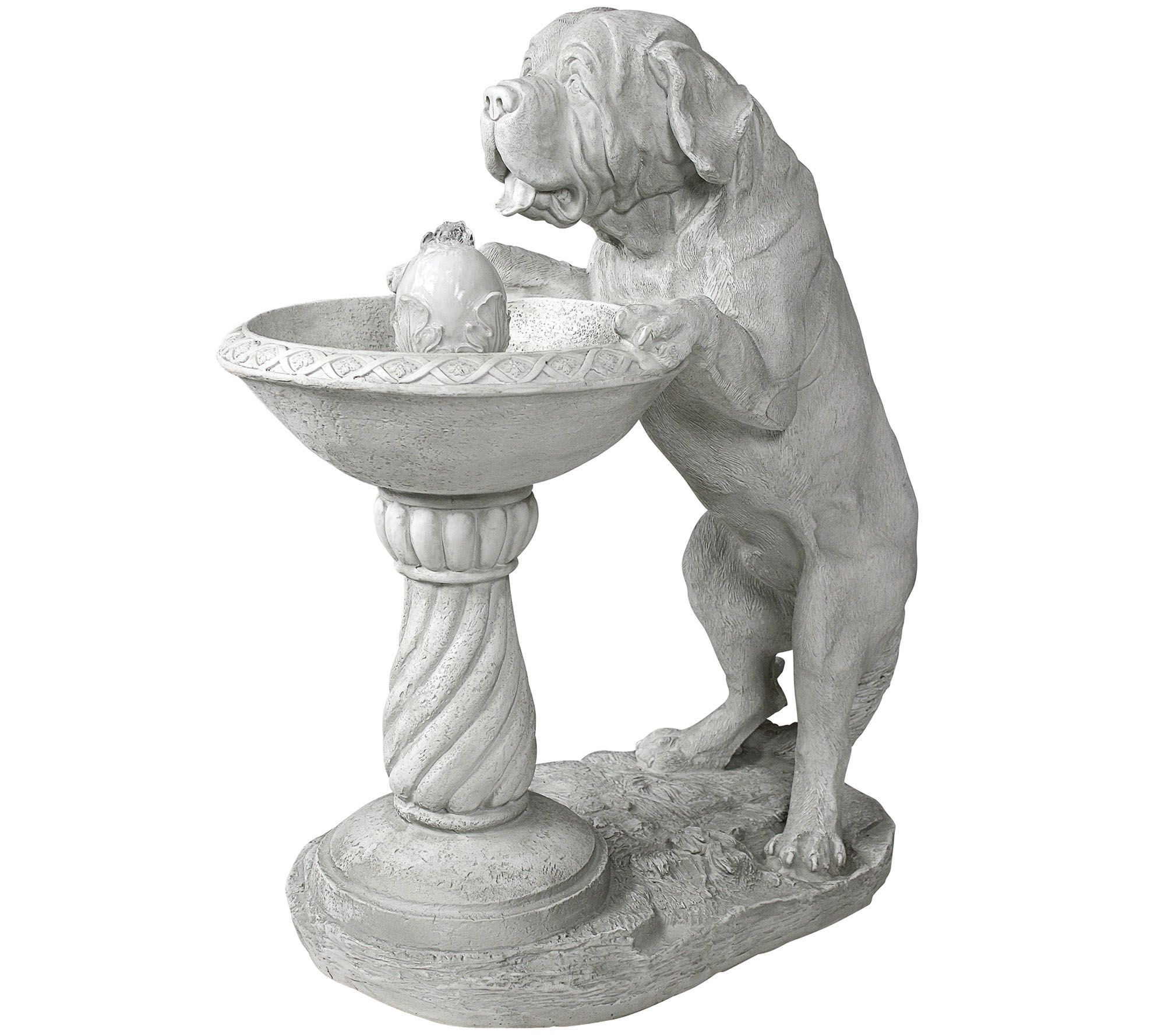 Charmant Design Toscano Thirsty Dog Garden Fountain WithPump   Page 1 U2014 QVC.com