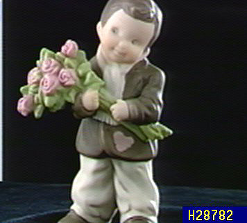 Pretty As A Picture I Know How To Win A Heart Figurine Qvccom