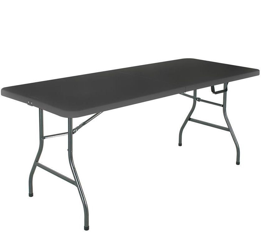 Cosco 6u0027L Blow Molded Center Folding Table