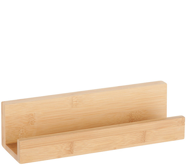 Honey-Can-Do Bamboo Wall Shelf — QVC.com