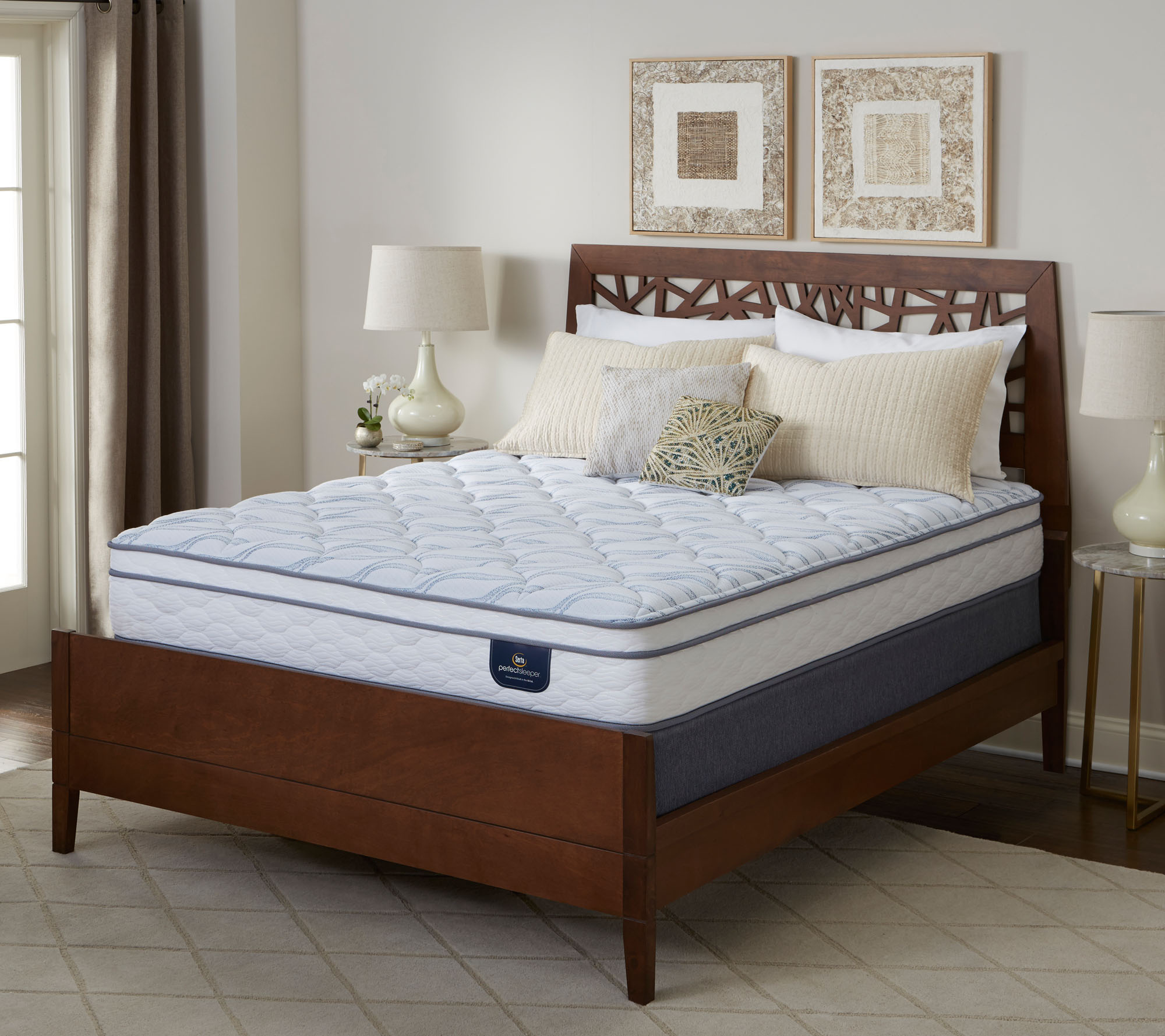 Serta Perfect Sleeper Carmine Euro Top King Mattress Set Page 1