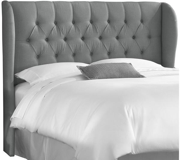 Skyline Furniture Full Tufted Wingback Headboard Qvc Com