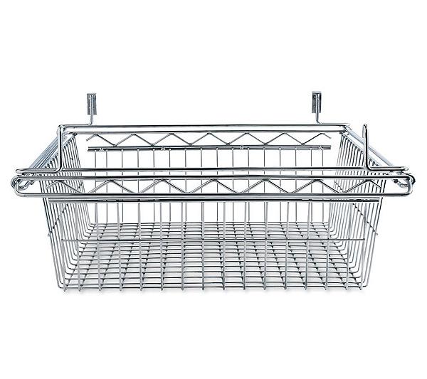 Alera Wire Shelving Sliding Wire Basket 18\