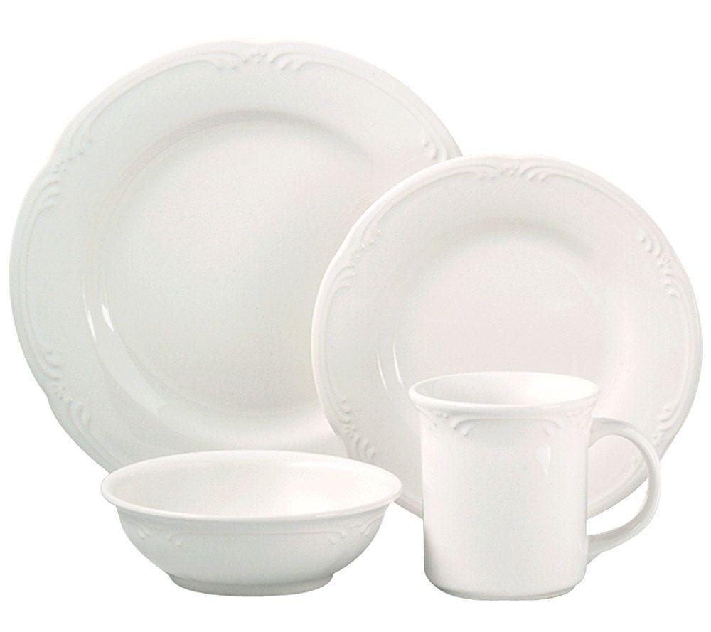 sc 1 st  QVC.com & Pfaltzgraff Filigree 16-Piece Dinnerware Set - Page 1 u2014 QVC.com
