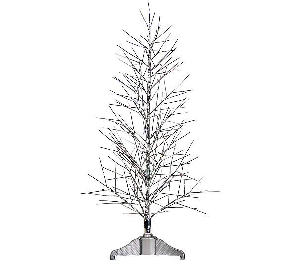 ... Fiber Optic Twig by Vickerman. product thumbnail. In Stock - 5' Silver Fiber Optic Twig By Vickerman €� QVC.com
