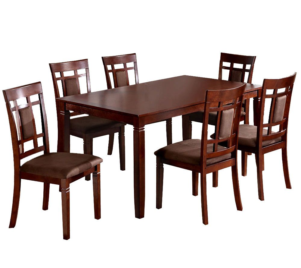 Montclair I 7 Piece Dining Table And Chairs   Page 1 U2014 QVC.com