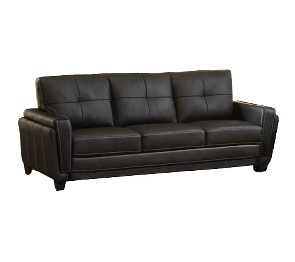Attractive Blacksburg Bonded Leather Sofa   Page 1 U2014 QVC.com
