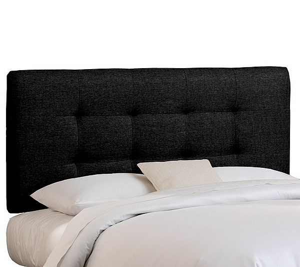 Skyline Furniture Queen Pull Tuft Upholstered Headboard Qvc Com