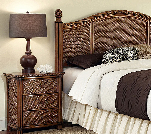 Home Styles Marco Island Queen Full Headboard And Nighstand