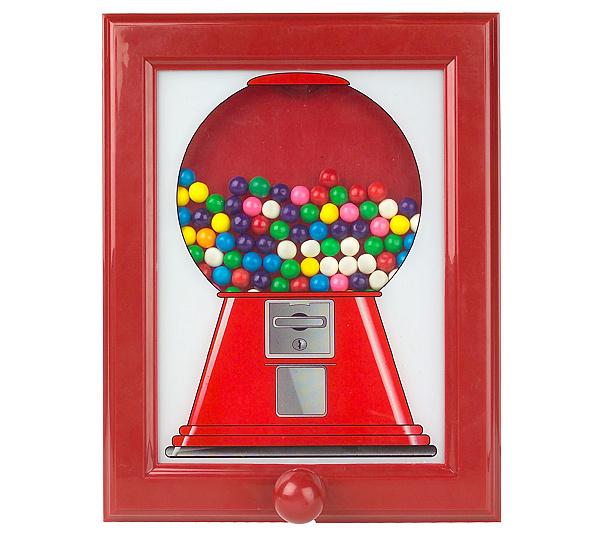 Refillable Gumball Dispensing Picture Frame with Gumballs - Page 1 ...