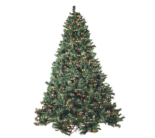 3-in-1 Ultimate Prelit 7 1/2' Christmas Tree w/ 1200 Lights &Remote ...