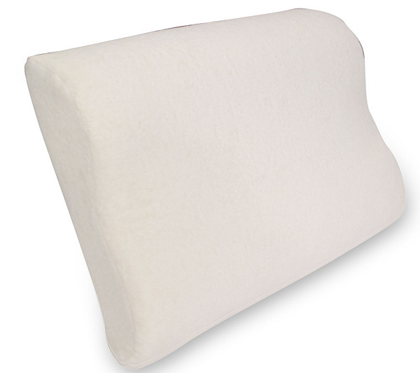 Natura Ultimate Latex Queen Size Contour Pillow With Cover Product Thumbnail In Stock