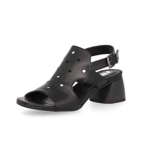 In Le Con 5cm Tacco Sandalo Pelle Traforata Matto UzpGSMqV