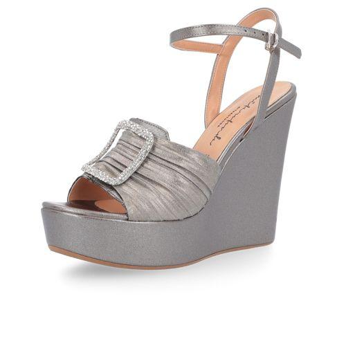 Sandalo Con Zeppa Gioiello 13cm Zpsqmvu Mitarotonda Fasciata QBotxhdsrC